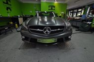 Mercedes SL63 AMG Satin grey metallic matt Folierung 6 190x126 Print Tech   Folierungen an Golf, GT3 RS, RSQ3 & SL55 AMG & Co.