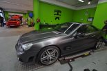 Mercedes SL63 AMG Satin grey metallic matt Folierung 9 155x103 mercedes sl63 amg satin grey metallic matt folierung 9