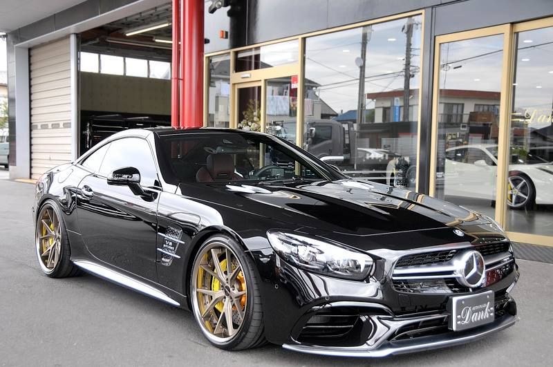 Mercedes SL65 AMG Hyperforged HF LC5 Tuning 3 Mercedes SL65 AMG auf 21 Zoll Hyperforged Wheels Alu's