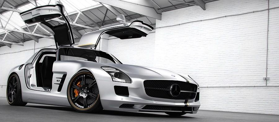 Mercedes SLS AMG Wheelsandmore Tuning 2 635PS & 323km/h im Mercedes SLS AMG von Wheelsandmore
