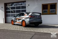 Mitsubishi EVO X Puddle of Racing Design Folierung 6 190x127 Neuer Look   Mitsubishi EVO X im Puddle of Racing Design
