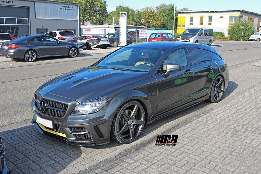 PD550 Widebody Mercedes CLS W218 Tuning MD 1 Widebody Mercedes CLS W218 Shooting Brake by M&D