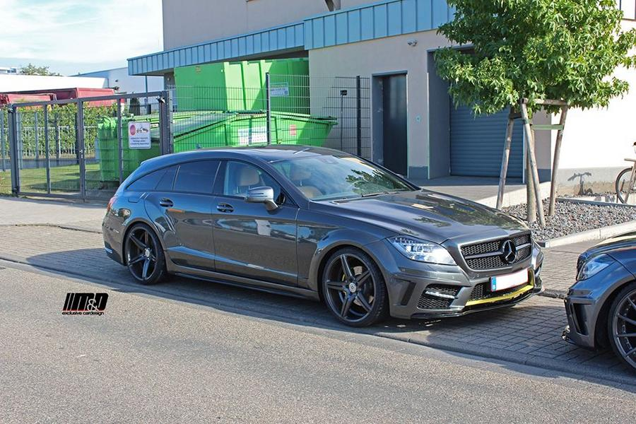 PD550 Widebody Mercedes CLS W218 Tuning MD 3 Widebody Mercedes CLS W218 Shooting Brake by M&D