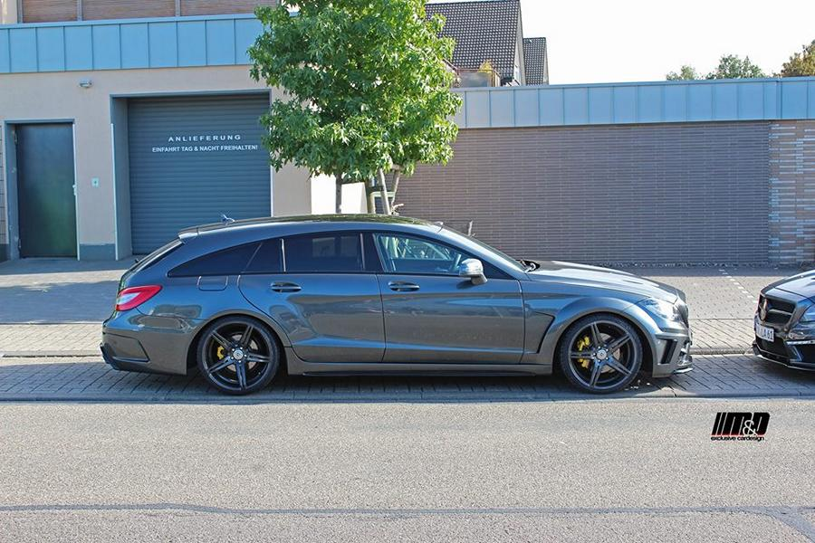 Widebody Mercedes Cls W218 Shooting Brake By M Amp D
