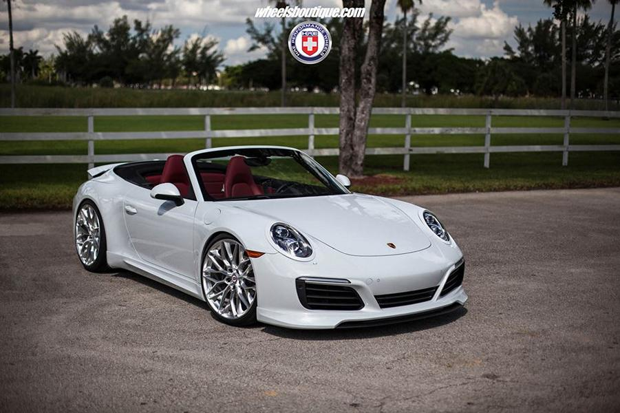 Porsche 911 992 Cabrio HRE Performance Wheels P200 Porsche 911 (991) Cabrio auf HRE Performance Wheels P200