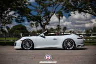 Porsche 911 994 Cabrio HRE Performance Wheels P200 190x126 Porsche 911 (991) Cabrio auf HRE Performance Wheels P200