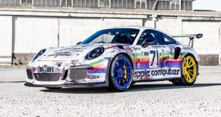 Porsche 911 GT3 RS Apple Computer Folierung Tuning 3 310x165 Weathered Electric Apocalypse Look am Skepple BMW I3