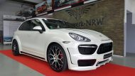 Porsche Cayenne Prior Widebody PD600 tuning 2 190x107 Porsche Cayenne mit Prior Widebody und 22 Zöllern by Folienwerk
