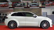 Porsche Cayenne Prior Widebody PD600 tuning 3 190x107 Porsche Cayenne mit Prior Widebody und 22 Zöllern by Folienwerk