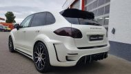 Porsche Cayenne Prior Widebody PD600 tuning 4 190x107 Porsche Cayenne mit Prior Widebody und 22 Zöllern by Folienwerk