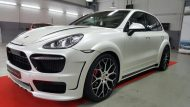 Porsche Cayenne Prior Widebody PD600 tuning 6 190x107 Porsche Cayenne mit Prior Widebody und 22 Zöllern by Folienwerk