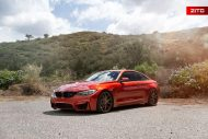 Sakhir Orange BMW M4 F82 Zito Wheels ZS05 6 190x127 Sakhir Orange lackierter BMW M4 F82 auf Zito Wheels ZS05