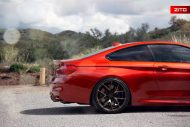 Sakhir Orange BMW M4 F82 Zito Wheels ZS05 8 190x127 Sakhir Orange lackierter BMW M4 F82 auf Zito Wheels ZS05