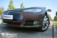 Tesla Model S Camouflage Design Tuning 5 190x127 Tesla Model S im Camouflage Design by WrapStyle Denmark