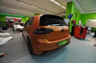 VW GOLF R MK7 Satin Canyon Copper Orange matt Tuning 2 190x126 Print Tech   Folierungen an Golf, GT3 RS, RSQ3 & SL55 AMG & Co.