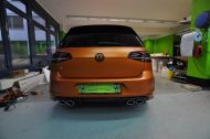 VW GOLF R MK7 Satin Canyon Copper Orange matt Tuning 3 190x126 Print Tech   Folierungen an Golf, GT3 RS, RSQ3 & SL55 AMG & Co.