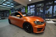 VW GOLF R MK7 Satin Canyon Copper Orange matt Tuning 5 190x126 Print Tech   Folierungen an Golf, GT3 RS, RSQ3 & SL55 AMG & Co.