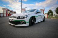 VW Scirocco HRE FF15 KW Tuning 1 190x127 VW Scirocco auf 20 Zoll HRE FF15 Alu's & KW Fahrwerk by EAH Customs