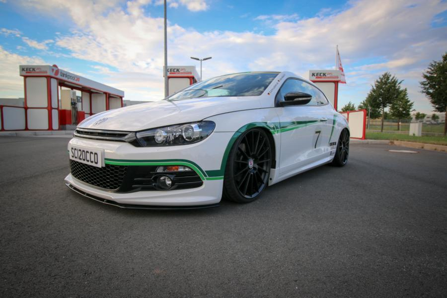 VW Scirocco HRE FF15 KW Tuning 1 VW Scirocco auf 20 Zoll HRE FF15 Alu's & KW Fahrwerk by EAH Customs