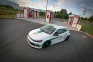 VW Scirocco HRE FF15 KW Tuning 12 190x127 VW Scirocco auf 20 Zoll HRE FF15 Alu's & KW Fahrwerk by EAH Customs
