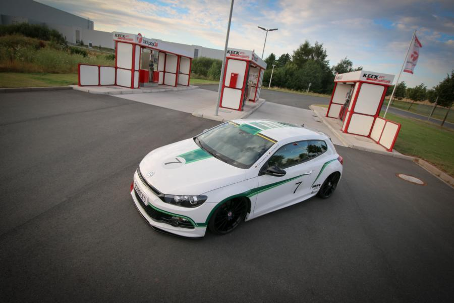 VW Scirocco HRE FF15 KW Tuning 3 VW Scirocco auf 20 Zoll HRE FF15 Alu's & KW Fahrwerk by EAH Customs