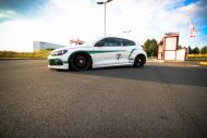 VW Scirocco HRE FF15 KW Tuning 4 190x127 VW Scirocco auf 20 Zoll HRE FF15 Alu's & KW Fahrwerk by EAH Customs