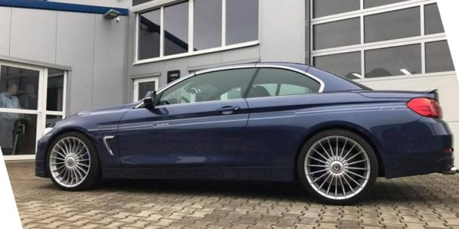 Tuning am Exoten – Versus-Performance Alpina B4 Cabrio mit 482PS