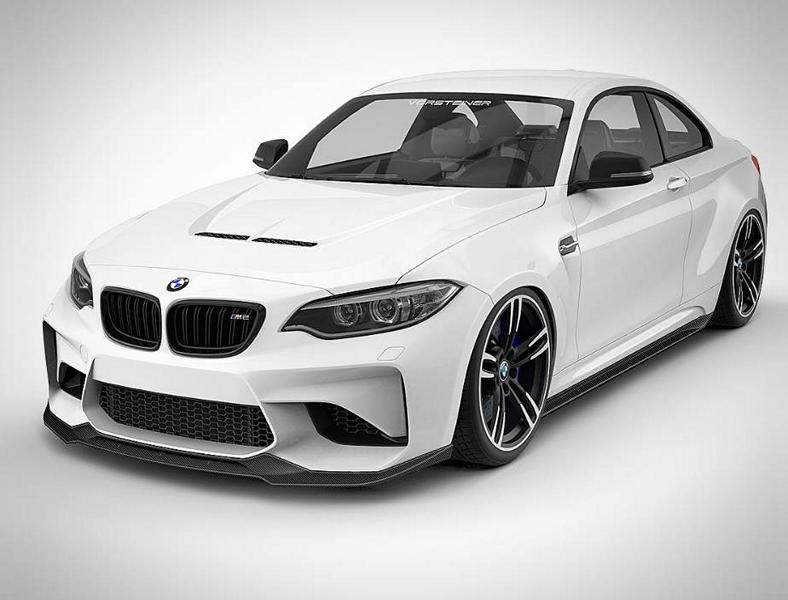 Preview Vorsteiner Bmw Body Kit On M2 F87 Coupe