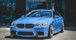 Work Zeast ST1 BMW M5 F10 Tuning 13 310x165 Mega Optik   Work Zeast ST1 Felgen am BMW M5 F10