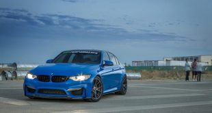 Yas Marina Blue BMW M3 With Vorsteiner Aero And Wheels 3 310x165 Fotostory: BMW M4 F82 mit Titan Auspuffanlage von Akrapovic