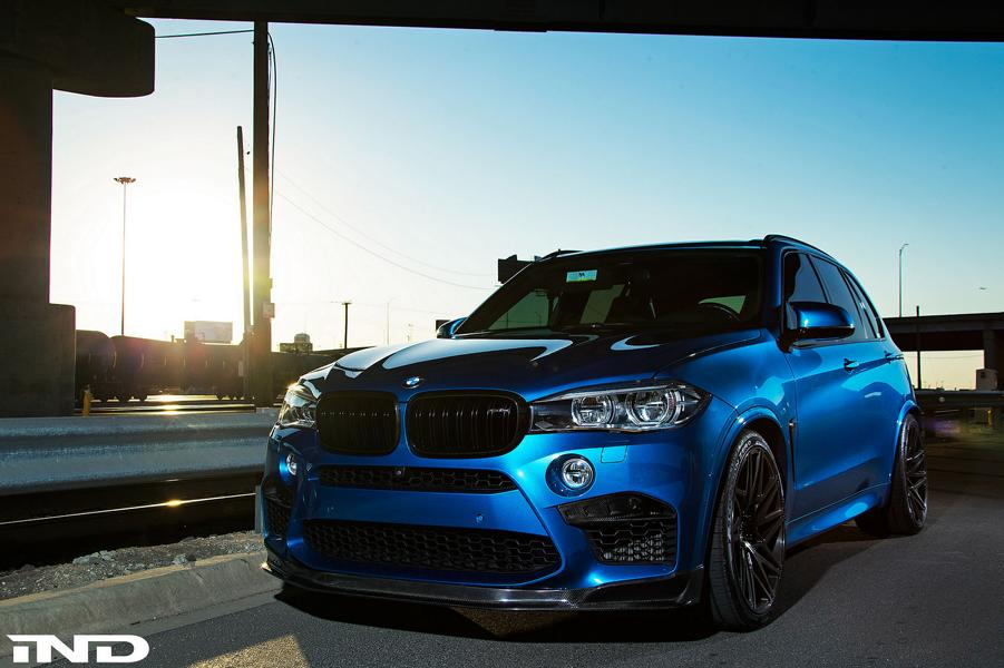 iND Distribution BMW F85 X5M Velos D7 Tuning 9 Extrem schick   iND Distribution BMW F85 X5M auf Velos D7 Alu's