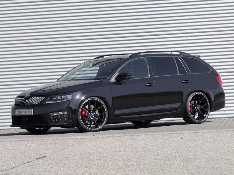 300ps, kw suspension & 20 incher at je design skoda octavia rs230