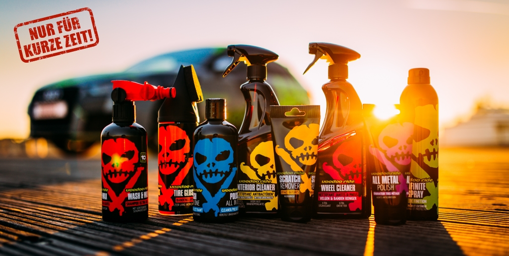 voodoo ride care products tuningblog offer Voodoo Ride care series