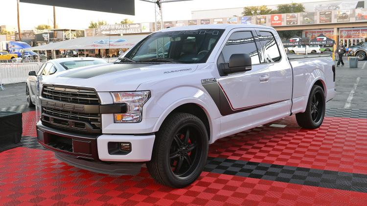 sema 2016 roush performance ford mustang f 150. Black Bedroom Furniture Sets. Home Design Ideas