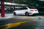 20 Zoll AGL19 Felgen Tuning W205 Mercedes Benz C63 AMG 2 190x126 Dezente 20 Zoll AGL19 Felgen am Mercedes Benz C63s AMG