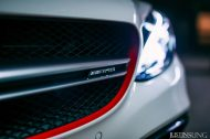 20 Zoll AGL19 Felgen Tuning W205 Mercedes Benz C63 AMG 4 190x126 Dezente 20 Zoll AGL19 Felgen am Mercedes Benz C63s AMG