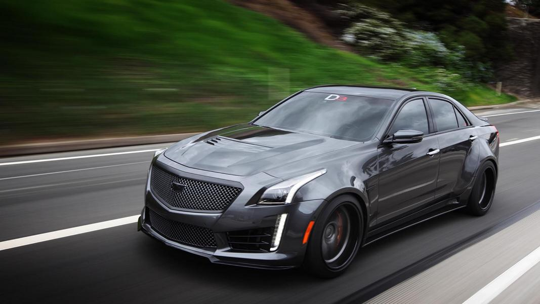 Ohne Worte 2016 Cadillac Cts V Widebody By D3 Cadillac