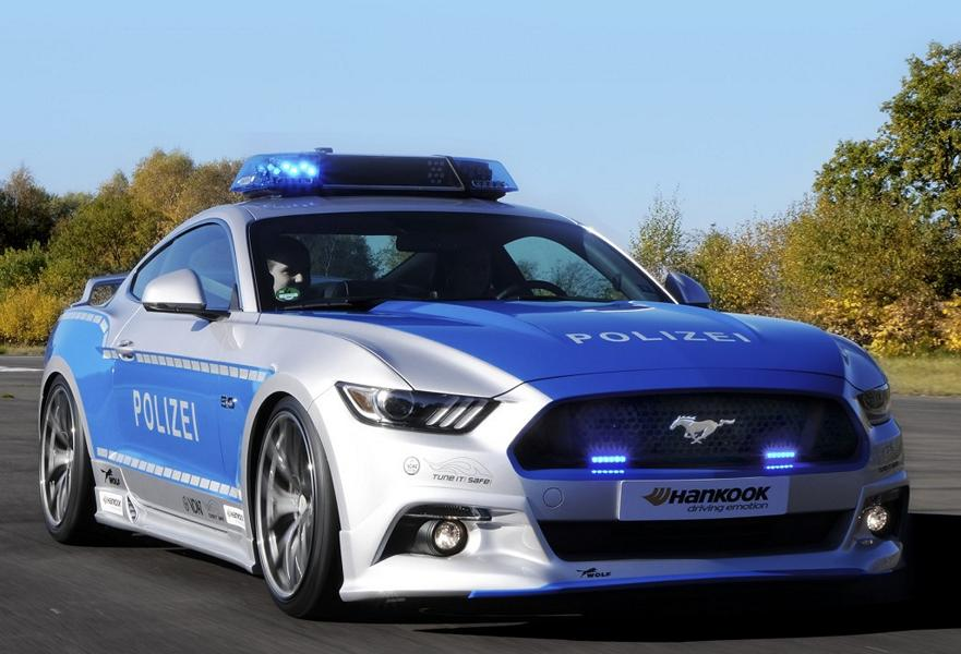 2016 Wolf Racing Ford Mustang Police Car Tune It Safe 3 1 Illegales Tuning   Polizeipräsidium Westpfalz schult Beamte