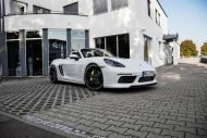 2016 porsche boxster techart tuning bodykit 2 190x127 Genug   Bodykit & 400PS im Techart Porsche Boxter (Typ 718)
