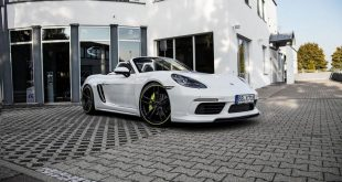 2016 porsche boxster techart tuning bodykit 2 310x165 Genug   Bodykit & 400PS im Techart Porsche Boxter (Typ 718)