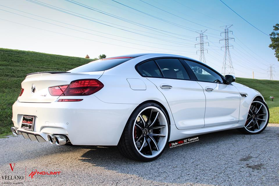 22 Zoll Vellano VCU BMW M6 F06 Grand Coupe Tuning 5 Hat was   22 Zoll Vellano VCU Felgen am BMW M6 F06 Grand Coupe