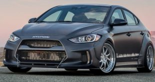 ARK Performance Hyundai Elantra SEMA Tuning 2016 1 310x165 Kia Stinger mit Legato Widebody Kit von ARK Performance Inc.