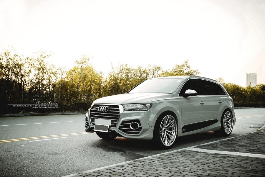 Audi Q7 Mit Abt Widebody Kit Amp 22 Zoll Brixton Wheels