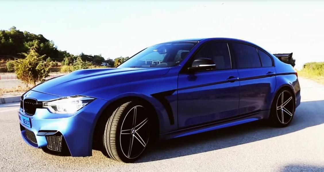 BMW 320i F30 Widebody Tuning Video: BMW 320i Kardashian Project by Kastyle Autoart