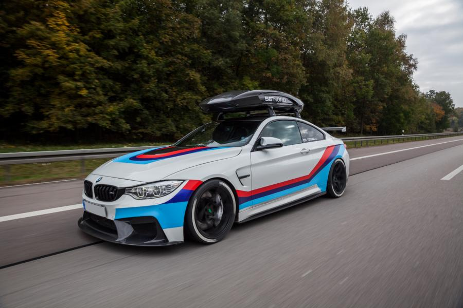 BMW F82 M4R Dachbox Carbonfiber Dynamics Tuning 30 BMW F82 M4R mit cooler Dachbox by Carbonfiber Dynamics