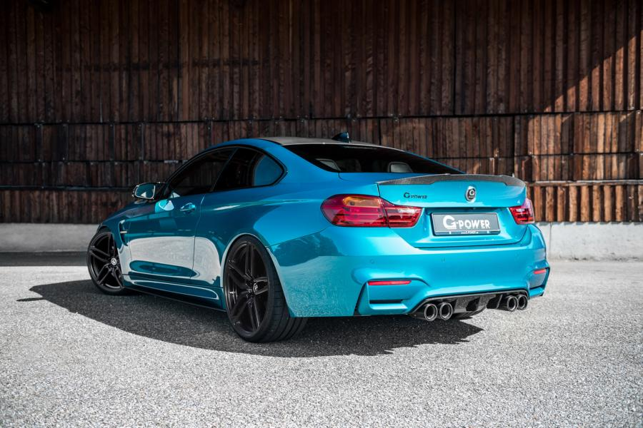 BMW M4 F82 Competition G Power Tuning 2016 10 BMW M4 F82 Competiton mit 600PS & 740NM by G Power