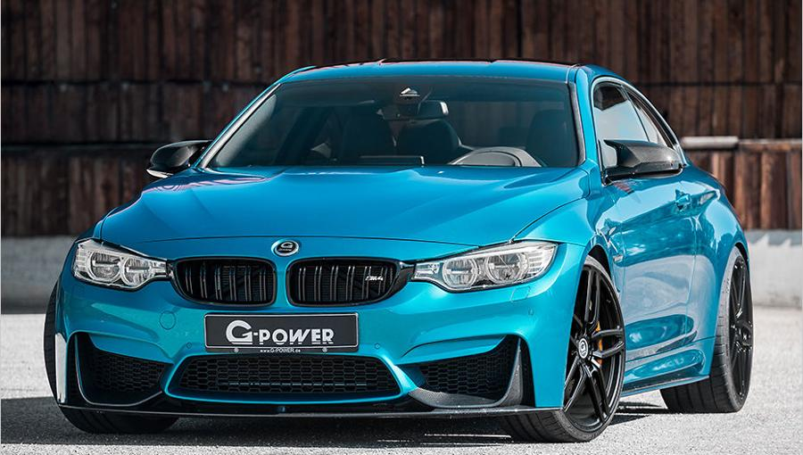 BMW M4 F82 Competition G Power Tuning 2016 2 BMW M4 F82 Competiton mit 600PS & 740NM by G Power