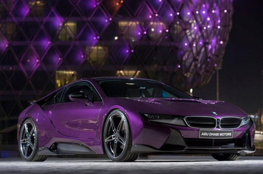 Bmw I8 Twilight Purple Tuning 1 Tuningblog Eu Magazine