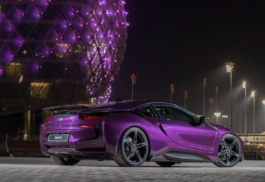 Bmw I8 Twilight Purple Tuning 2 Tuningblog Eu Magazine