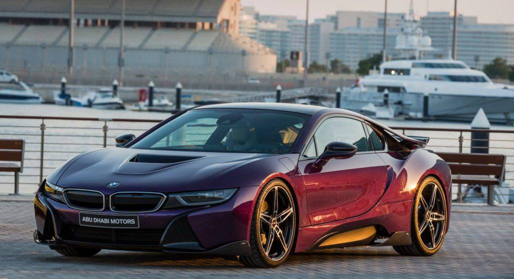 Bmw I8 Twilight Purple Tuning 4 Tuningblog Eu Magazine